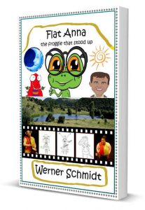 3D Flat Anna English eBook Cover with border sd